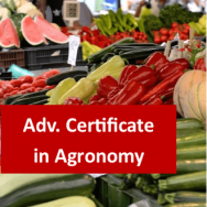Agronomy 400 Hour Advanced Certificate Course