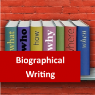 Biographical Writing 100 Hours Certificate Course