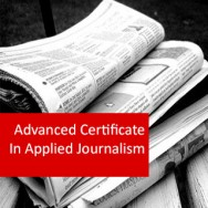 Journalism 400 Hour Advanced Certificate Course