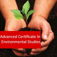 Environmental Studies 400 Hours Advanced Certificate Course