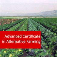 Alternative Farming 400 Hours Advanced Certificate Course