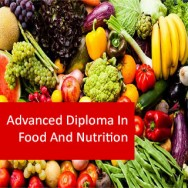 Food And Nutrition 800 Hours Advanced Diploma