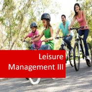 Leisure Management III 100 Hours Certificate Course