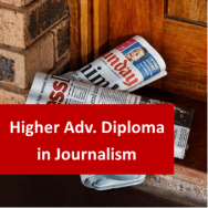 Journalism 1200 Hours Higher Advanced Diploma