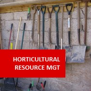Horticultural Resource Management