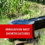 Horticulture Irrigation Management