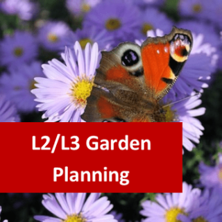 RHS Level 2 Principles of Garden Planning, Establishment and Maintenance (Theory) and Level 3 Principles of Garden Planning, Construction and Planting (Theory) Both Certificates Package
