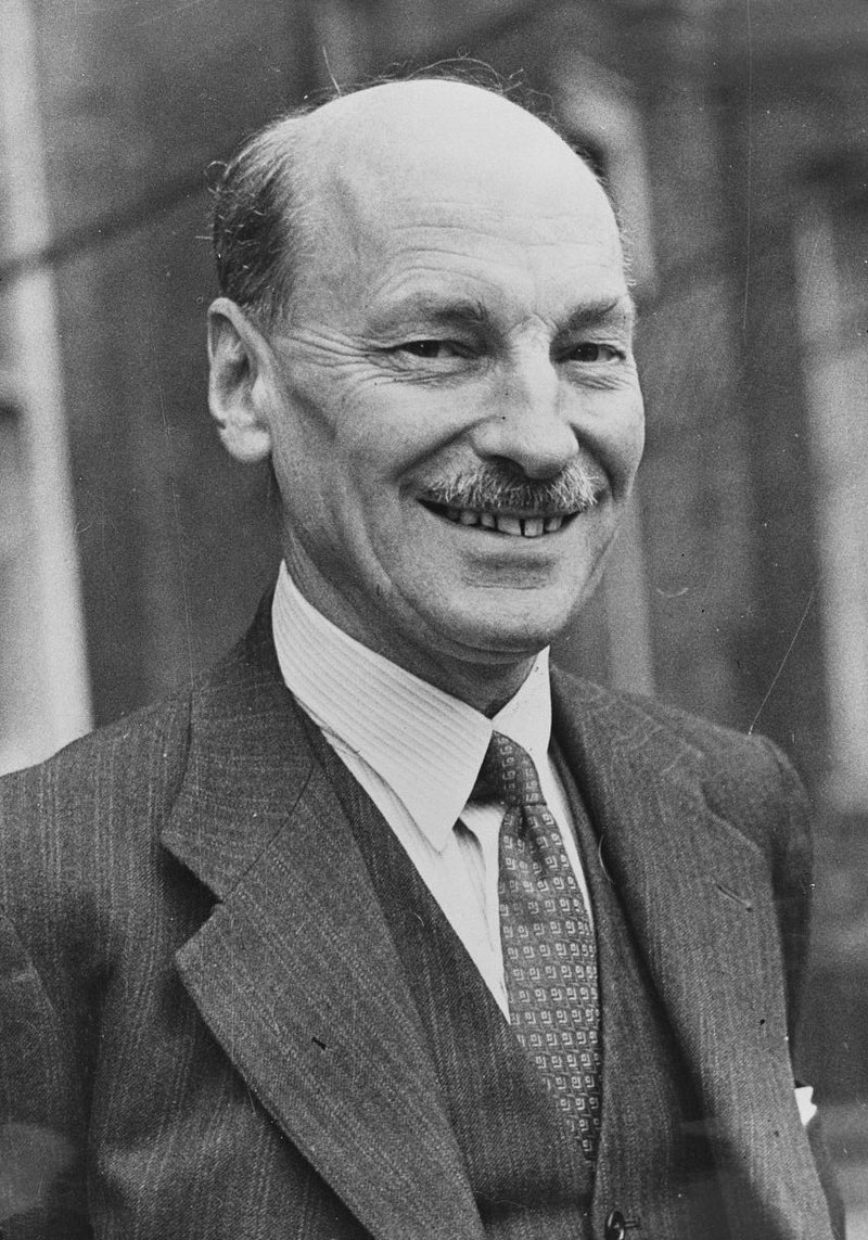 Clemont Attlee, a British politician from the 1940s