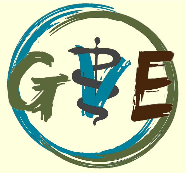 GVE logo link to information on vet experience holidays