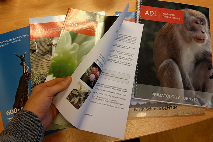 ADL Correspondence Packs for courses