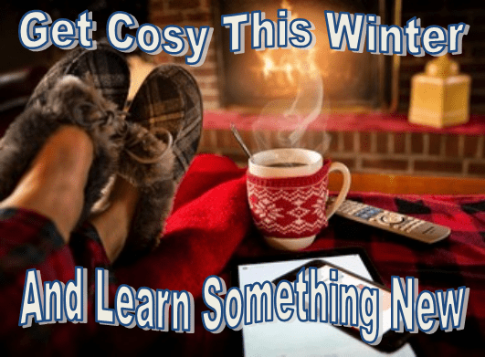 Get cosy this winter and learn something new
