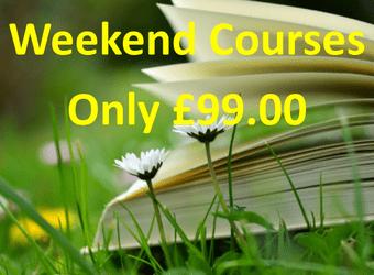 Weekend courses link