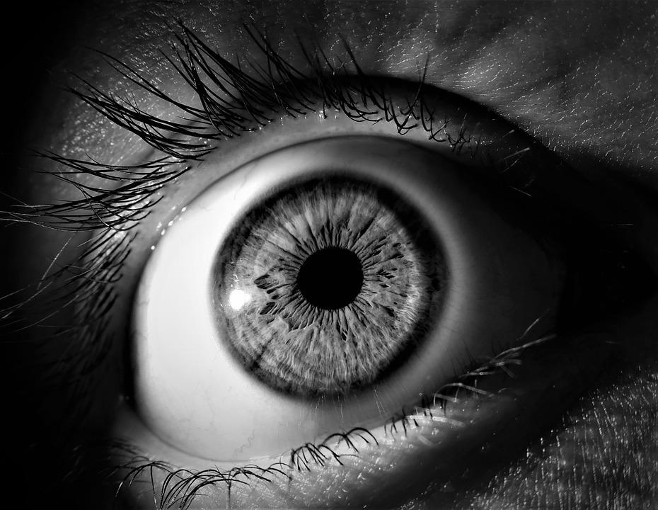 eye up close