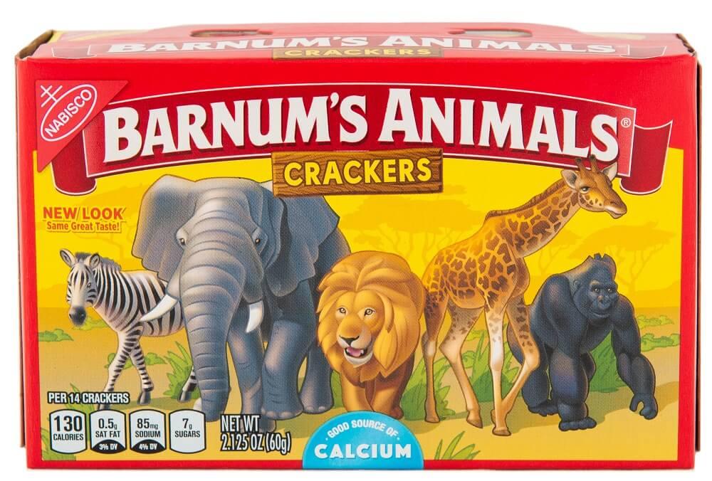 barnum's animal crackers box