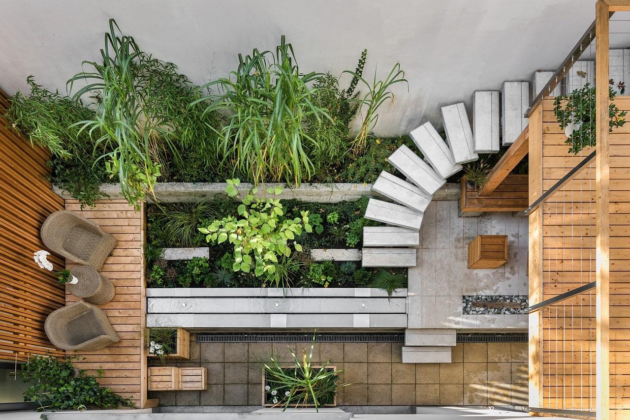 Garden design wood