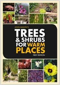 Trees and Shrubs for Warm Places eBook cover with lots of shrubs