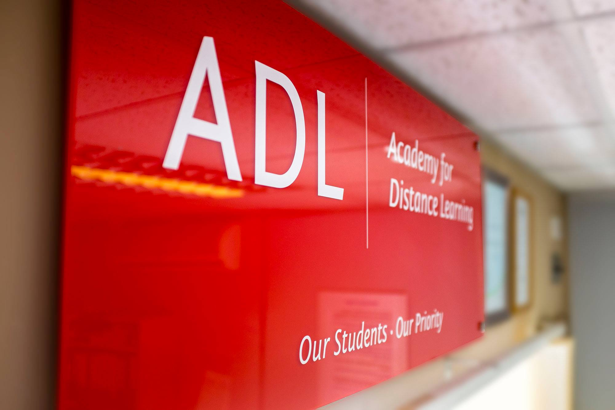 ADL Banner from the office