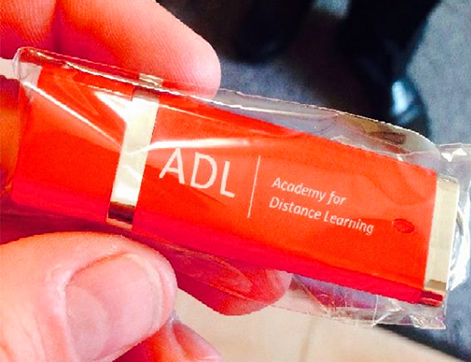ADL USB Memory stick sent out to students