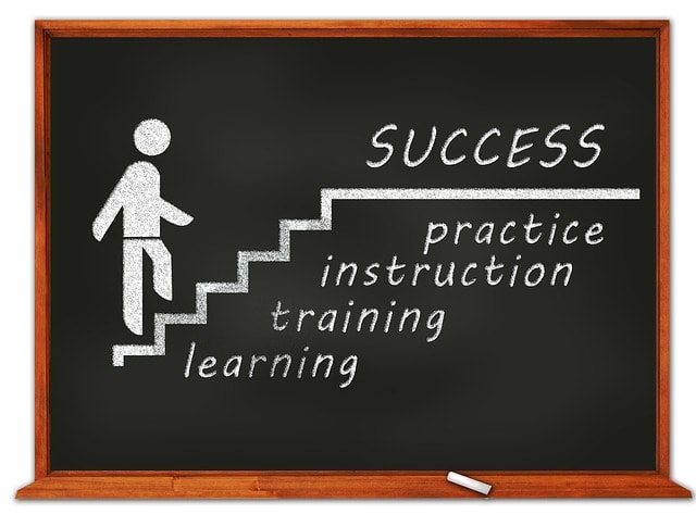 Steps to suuccess: Training, Instruction and Practice